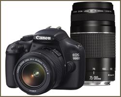 Fotocamera reflex digitale Canon EOS 1100D